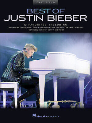 Best Of Justin Bieber (Justin Bieber) Easy Piano Personality Easy Piano • 11.53£