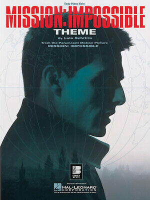 Mission: Impossible Theme Easy Piano Solo Sheet Music • 3.04£