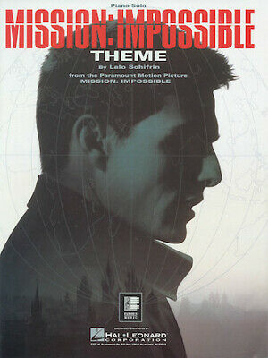 Mission: Impossible Theme Piano Solo Sheet Music • 2.83£