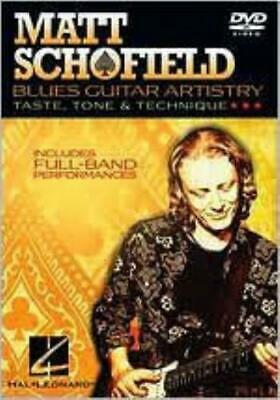 MATT SCHOFIELD: BLUES GUITAR ARTISTRY (Region 1 DVD,US Import.) • 26.19£