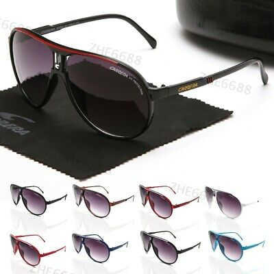 2020 NEW Men Women Sunglasses Ruthenium Pilot Gradient Lens Eye Carrera Glasses • 8.99£