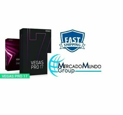 New Magix Sony Vegas Pro 17 2020 Lifetime Pre-Activated Fast Shipping • 4£