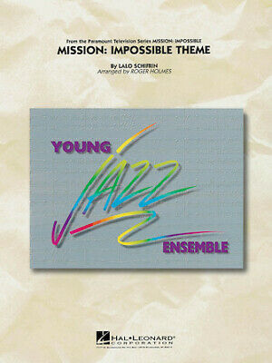 Mission: Impossible Theme (Lalo Schifrin) Young Jazz (Jazz Ensemble) (Holmes) • 34.62£