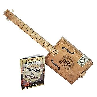 The Electric Blues Box Slide Guitar Kit With Guitar, Instruction Book And DVD • 26.33£