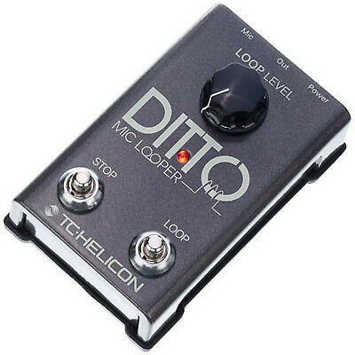 Tc Electronic Helicon Ditto Mic Looper + Di Adaptor For Guitar • 64.99£