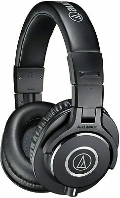 Audio-Technica ATH-M40X Professional Studio Monitor Over-ear With Free Postage • 166£