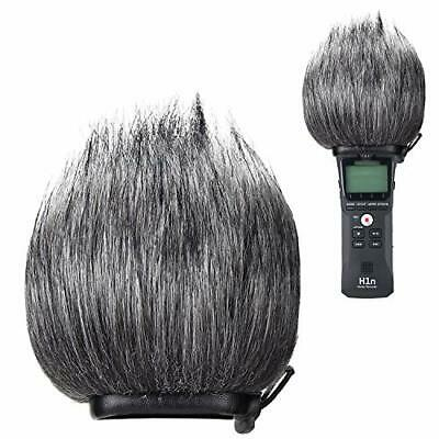 YOUSHARES Zoom H1n Recorder Furry Outdoor Windscreen Muff, Pop Filter/Wind Cover • 12.83£