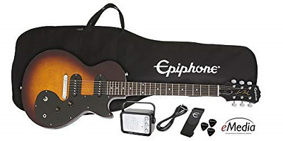 Epiphone Les Paul SL Starter Pack Includes Mini Amp, Gigbag, Tuner, Picks, And • 227.48£