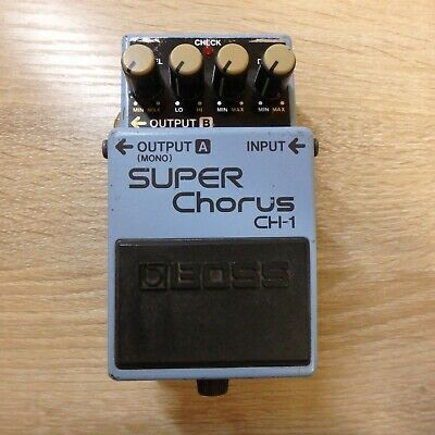BOSS CH-1 Chorus Guitar Effect Pedals  BODY ONLY From Japan 25HH20001 • 45.98£