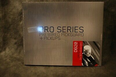 EMG Pickups David Gilmour Signature DG20 Set NEW Dealer Pickguard Set Strat • 233.50£