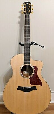 Taylor 214ce Koa Deluxe Gorgeous New Acoustic Electric Guitar W/  Hard Case • 958.37£