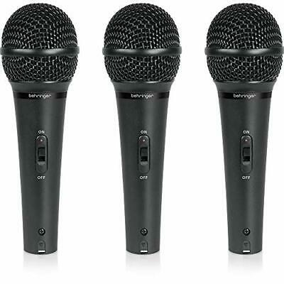 Behringer Dynamic Microphone Vocal Three Set ULTRAVOICE XM1800S • 72.34£
