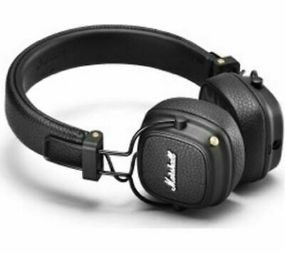 MARSHALL Major III Wireless Bluetooth Headphones - Black - Currys • 81.99£