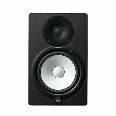 Yamaha HS7 Active Reference Monitor Speakers (pair + desktop monitor stands)