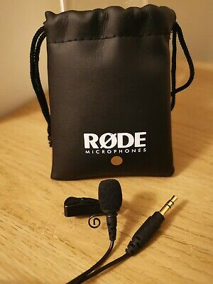 Rode Lavalier GO Professional-grade Wearable Microphone - Great Condition (Used) • 23£