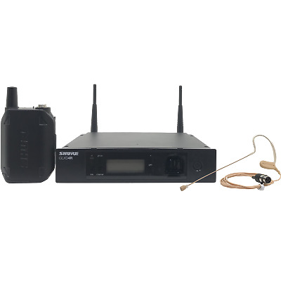 Shure GLXD14R/MX53 Bodypack Wireless System With Factory Re-Certified • 459.93£