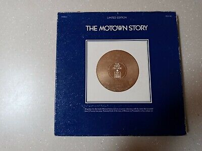 THE MOTOWN STORY (Motown MS 5-726, 1970) 5 LP Limited Edition Box Set - Rare • 17.02£