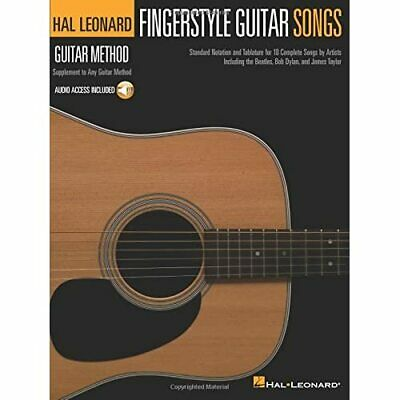 Hal Leonard Guitar Method: Fingerstyle Guitar Songs (Ha - Paperback NEW Various • 12.05£
