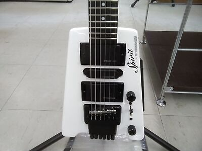 Spirit By STEINBERGER GT-PRO Deluxe WH White Electric Guitar From Japan • 399.95£