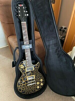 EPIPHONE Les Paul Limited Edition Nuclear Extreme Electric Guitar with new Case