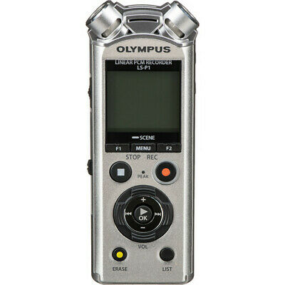 Olympus LS-P1 LINEAR PCM RECORDER 4GB SILVER WITH WAVELAB LE9 SOFTWARE • 99.90£
