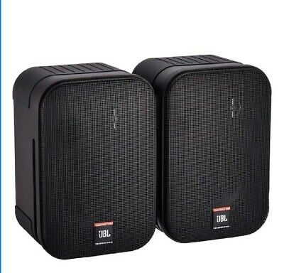 New JBL 2way Compact Speakers (Pair) Control 1 PRO New Unopened