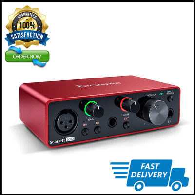 Scarlett Solo (3rd Gen) USB Audio Interface with Pro Tools   First