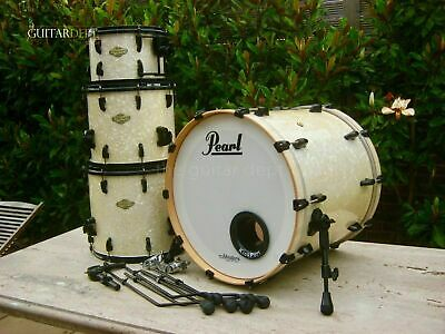 ♚SUPERB♚Pearl Masters *PREMIUM MAPLE* SST♚12/14/16/22♚White Pearl♚GREAT SIZES!♚