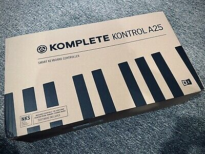 Native Instruments Komplete Kontrol A25 Semi Weighted Keyboard + Free Software