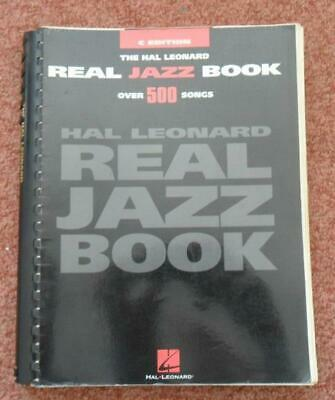 The Hal Leonard REAL JAZZ BOOK over 500 songs C Edition vintage book
