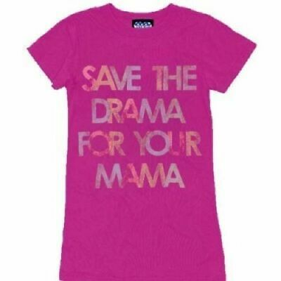 Save The Drama For Your Mama Magenta Juniors T-shirt Tee • 21.43£