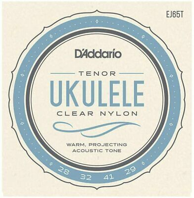 D'Addario EJ65T Pro-Art Custom Extruded Ukulele Strings, Tenor • 6.39£