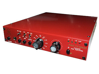 Golden Age Project PRE-73 Mk III Classic Microphone Preamp Pre Amplifier • 265£