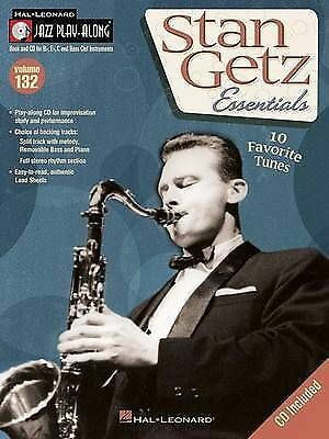 Jazz Play Along: Stan Getz Essentials: Volume 132 By Hal Leonard Corporation... • 17.50£