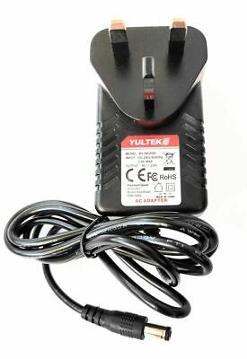 Yultek 9V Power Supply For Line 6 Relay Wireless Receiver G55, G50, G90 • 9.99£