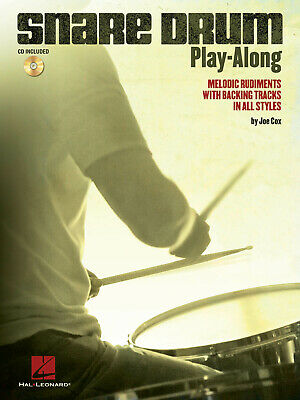 Snare Drum Play-Along Melodic Rudiments With Backing Tracks In All Styles Snare • 51.44£