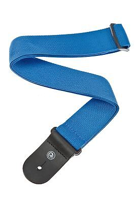 Planet Waves by D'Addario Polypro Guitar Strap with Leather Ends, Blue