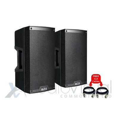 Alto TS310 Active 10  1000W RMS DJ Disco PA Speakers (Pair) With FREE Cables • 432£