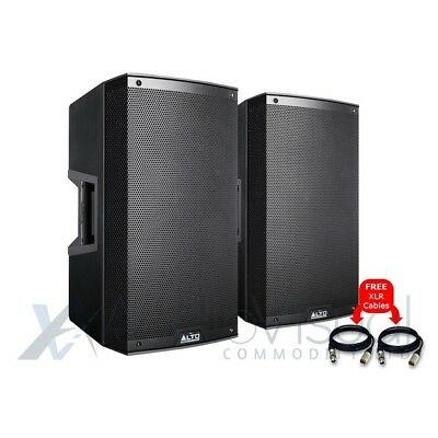 Alto TS315 Active 15  1000W RMS DJ Disco PA Speakers (Pair) With FREE Cables • 562£