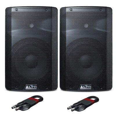 Alto TX210 Active 10  150W RMS DJ Disco Live PA Speakers (Pair) With XLR Cables • 244£