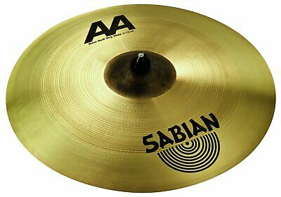 Sabian 21  AA Raw Bell Dry Ride Drum Cymbal • 242£