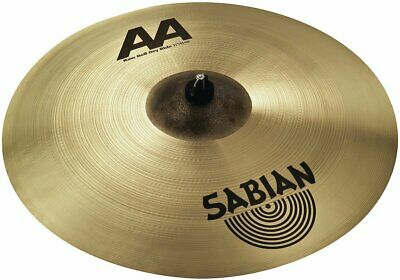 Sabian 21  AA Raw Bell Dry Ride Brilliant Finish Drum Cymbal • 242£