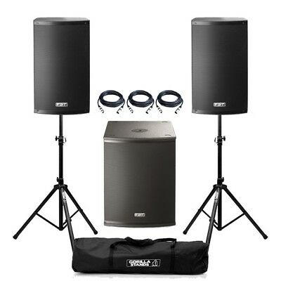 FBT X-1500 Active X-Lite 10A Speaker X-Sub 15SA Subwoofer  PA System  • 1,239£