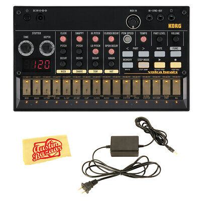 Korg Volca Beats Analogue Drum Machine W/ Power Supply • 120.66£