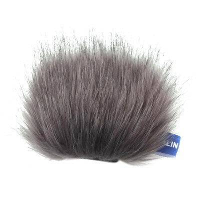 Artificial Fur Wind Shield For Tascam DR-22WL Stereo Mic Microphone Cover • 3.97£