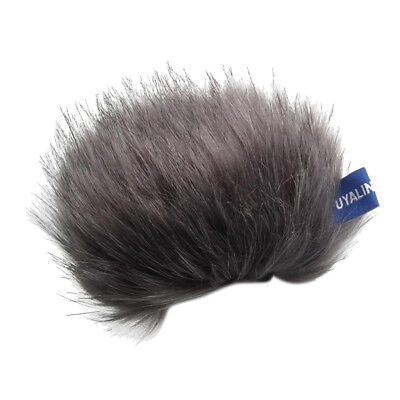 Furry Windscreen Windshield Cover Muff For Tascam DR-44WL Stereo Microphone • 4.07£