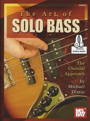 The Art of Solo Bass TAB Music Book with Audio Access The Chordial Approach
