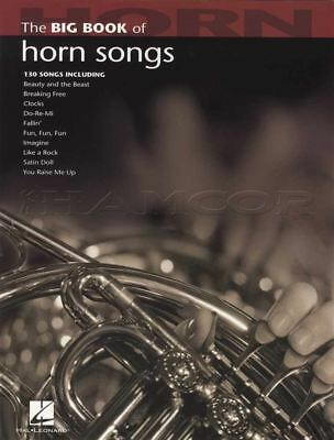 The Big Book Of Horn In F Songs Sheet Music Book 130 Songs Elvis Coldplay E T • 13.28£