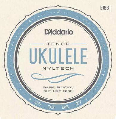 D'Addario Nyltech Tenor Ukulele Strings EJ88T Uke String Set • 8.83£