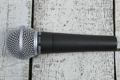 Shure SM58 Dynamic Vocal Microphone Cardioid Pickup Pattern With Clip And Pouch • 75.96£